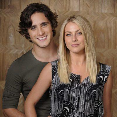 Diego Boneta y Julianne Hough
