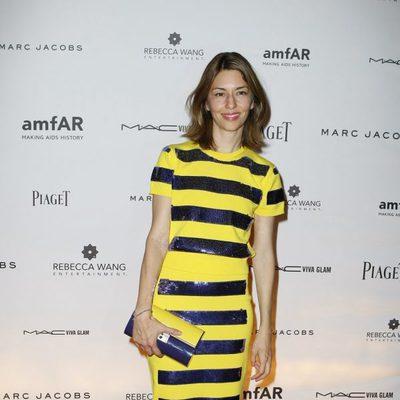 Sofía Coppola en la gala amfAR celebrada en París