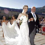 El vestido de novia de Astrid Klisans