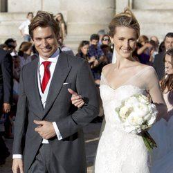 Carlos Baute y Astrid Klisans se casan