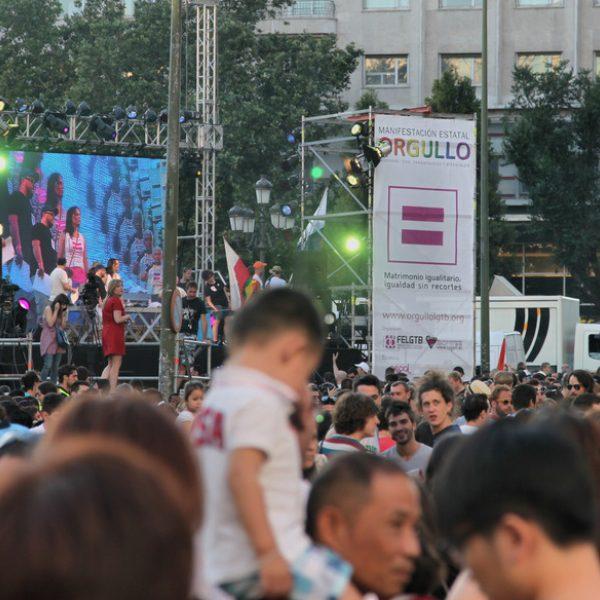 Orgullo Gay de Madrid 2012