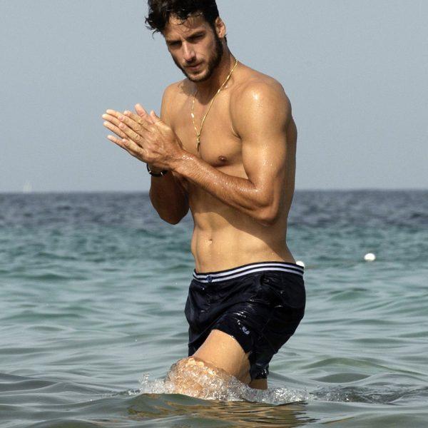 Feliciano López: día de playa en Ibiza