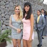 Berta Collado y Cristina Pedroche en la boda de Patricia Conde