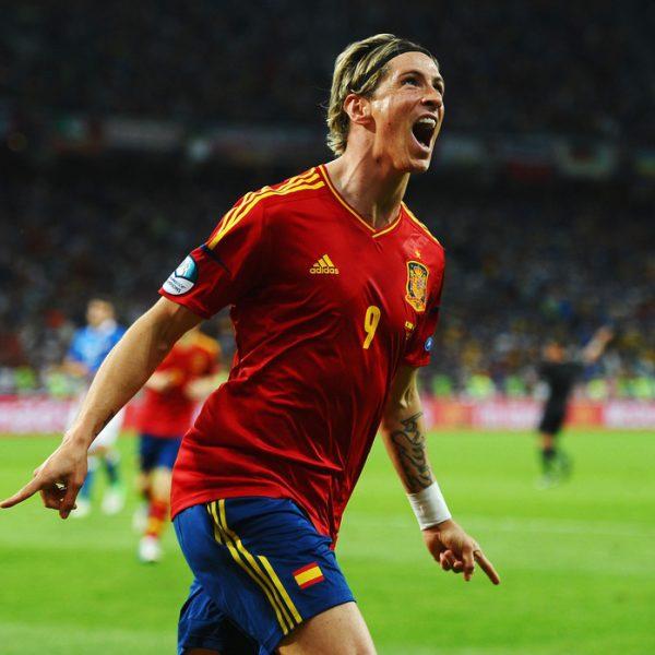Fernando torres celebra el tercer gol en la final de la for Torres en la cocina youtube