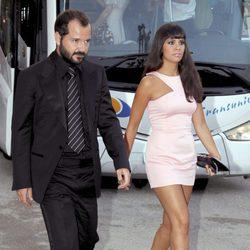 Ángel Martín y Cristina Pedroche en la boda de Patricia Conde