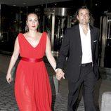 Ana Milán y Jorge de Juan en la boda de Patricia Conde