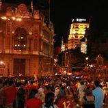 Celebraciones en Madrid de la Eurocopa 2012