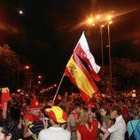 Celebraciones en Cibeles de la Eurocopa 2012