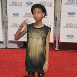 Willow Smith en la alfombra roja de los Bet Awards 2012