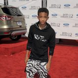 Jaden Smith en la alfombra roja de los Bet Awards 2012
