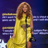 Beyoncé en la alfombra roja de los Bet Awards 2012