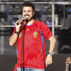 Huecco en el concierto celebrado por el triunfo de España en Cibeles