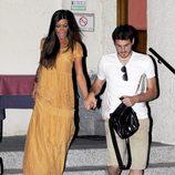 Iker Casillas y Sara Carbonero con cara de susto en Madrid