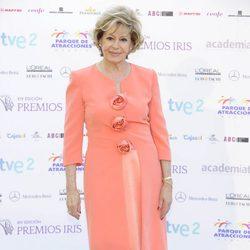 Laura Valenzuela en la entrega de los Premios Iris 2012
