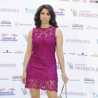 Alicia Borrachero en la entrega de los Premios Iris 2012