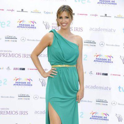 Sandra Sabatés en la entrega de los Premios Iris 2012
