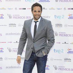 Roberto Leal en la entrega de los Premios Iris 2012