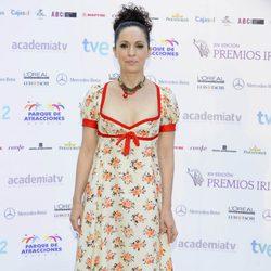 Adriana Ozores en la entrega de los Premios Iris 2012