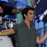 Joe Jonas en un concierto con motivo de la celebración del 4 de julio
