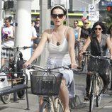 Katy Perry celebra en bici el Día de la Independencia