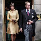 Los Duques de Cambridge en el nombramiento del Príncipe Guillermo como Caballero de la Orden del Cardo