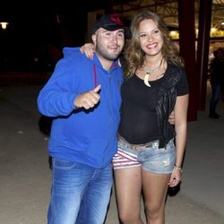 Kiko Rivera y Jessica Bueno en el Rock in Rio Madrid 2012