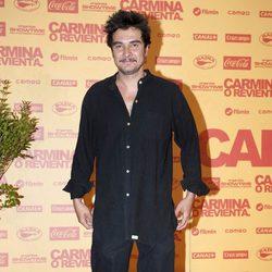 José Manuel Seda en el estreno de 'Carmina o revienta'