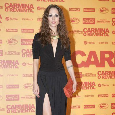 Silvia Alonso en el estreno de 'Carmina o revienta'