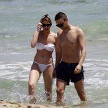 Adriana Abenia disfruta de unos días de vacaciones en Ibiza con su novio Sergio