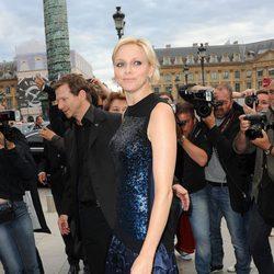 La Princesa Charlene de Mónaco en París
