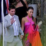 Leo Messi y Antonella Roccuzzo en la boda de Andrés Iniesta y Anna Ortiz