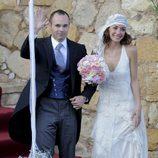 Andrés Iniesta y Anna Ortiz se dan el 'sí quiero' en el Castillo de Tamarit