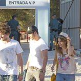 Miguel Ángel Silvestre y Blanca Suárez en Rock in Rio Madrid 2012
