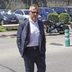 Jordi González acude al tanatorio de Pedro Rodríguez