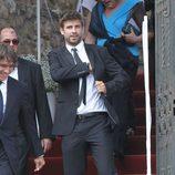 Gerard Piqué en la boda de Andrés Iniesta y Anna Ortiz
