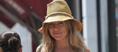 Sienna Miller embarazada de su primer hijo
