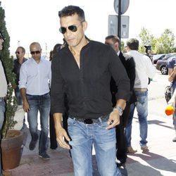 Jesús Vazquez acude al funeral de Pedro Rodríguez
