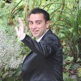 Xavi Hernández en la boda de Andrés Iniesta y Anna Ortiz
