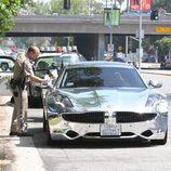 Justin Bieber multado por la policía de Los Ángeles