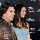 Tom Cruise y Katie Holmes en el estreno de 'Los Kennedy'