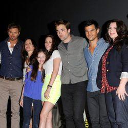 Reparto de 'Amanecer. Parte 2' en la Comic-Con 2012