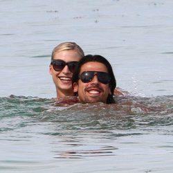 Sami Khedira y Lena Gercke, de vacaciones en Miami
