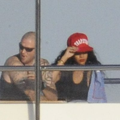 Rihanna y Drake en Cerdeña
