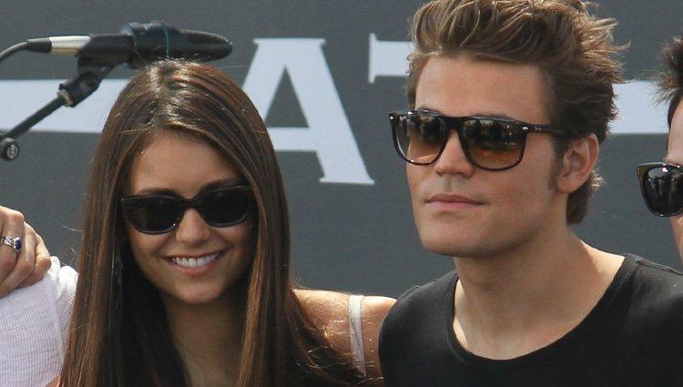 Nina Dobrev y Paul Wesley en la Comic-Con 2012
