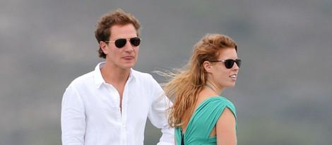 Beatriz de York y su novio Dave Clark, de vacaciones en Saint-Tropez