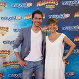 Paco León y Eva Hache en el estreno de 'Madagascar 3' en Madrid