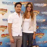 Elena Furiase y Leo Perugorría en el estreno de 'Madagascar 3' en Madrid