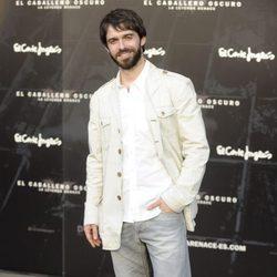 Alberto Amarilla en el estreno de 'El caballero oscuro: la leyenda renace' en Madrid