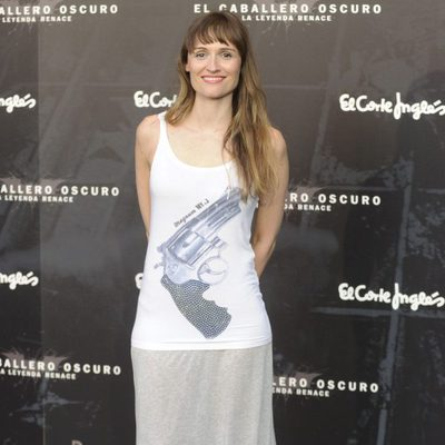 Laura Pamplona en el estreno de 'El caballero oscuro: la leyenda renace' en Madrid