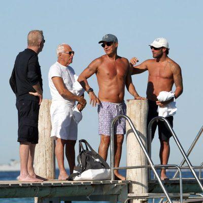 Giorgio Armani de vacaciones en Saint Tropez